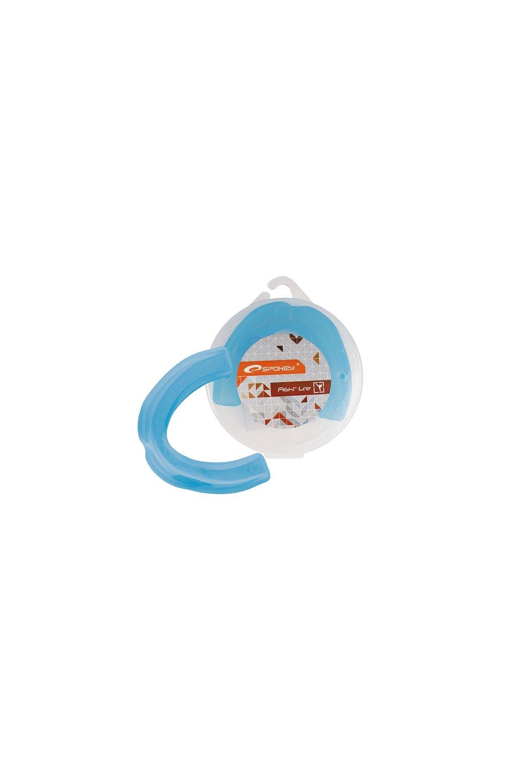 Ochraniacz szczęki pojedynczy Spokey Keigo II niebieski 830605