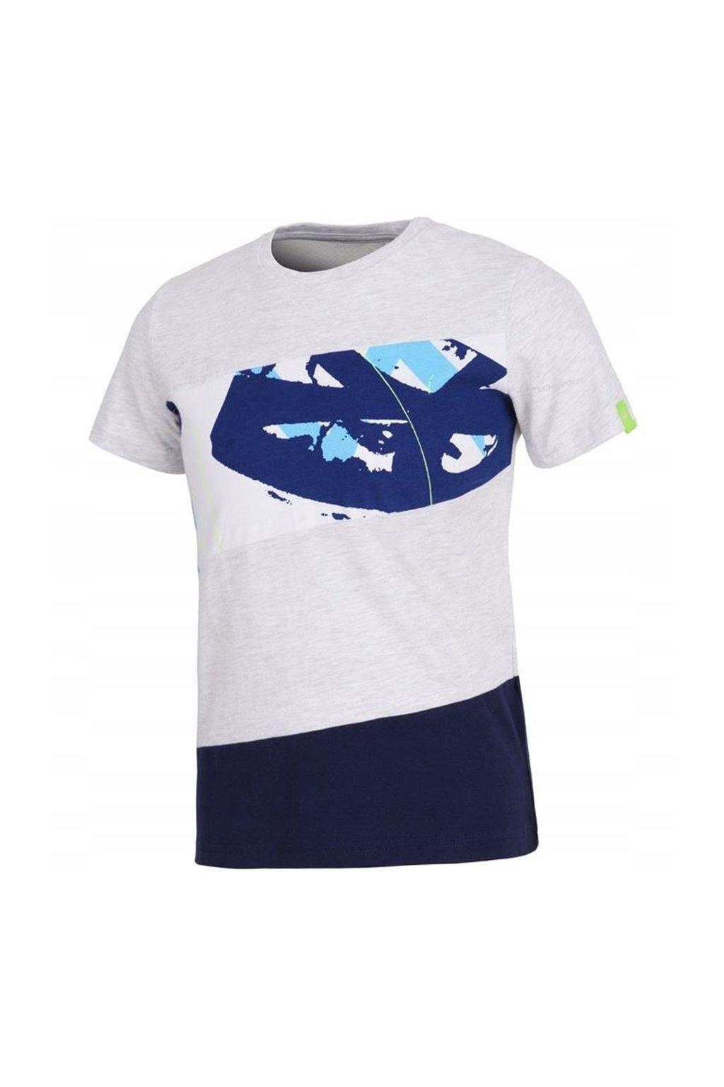 Chlapčenské tričko 4F sivé HJL20 JTSM010 25M