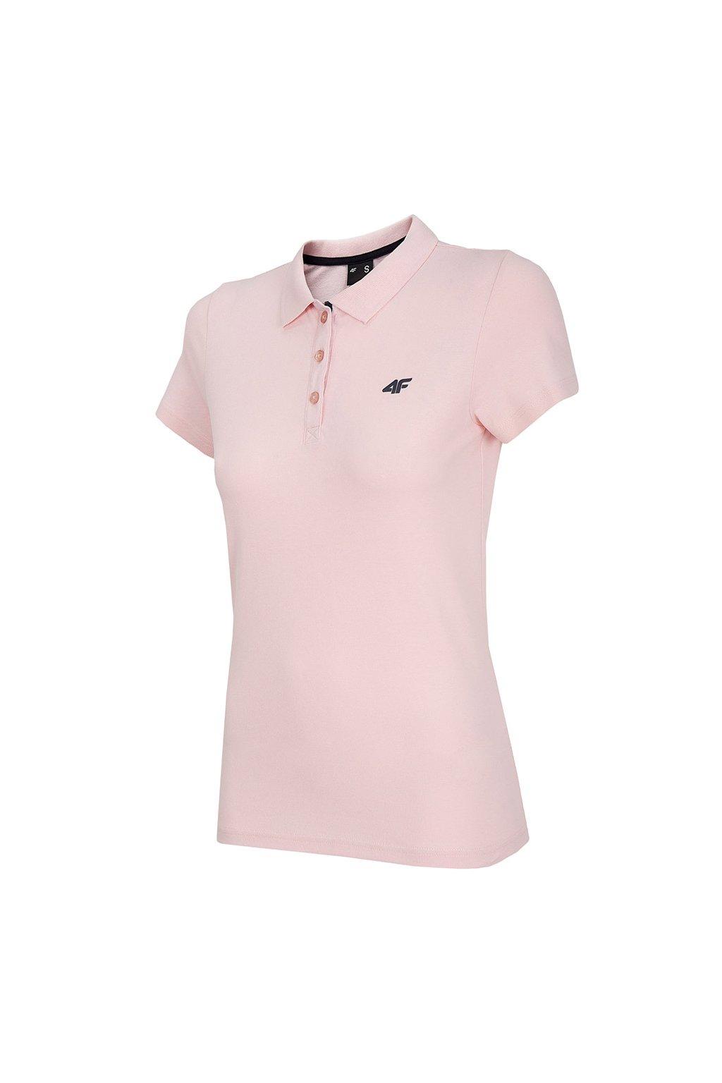 Dámske tričko 4F ružové NOSH4 TSD007 56S