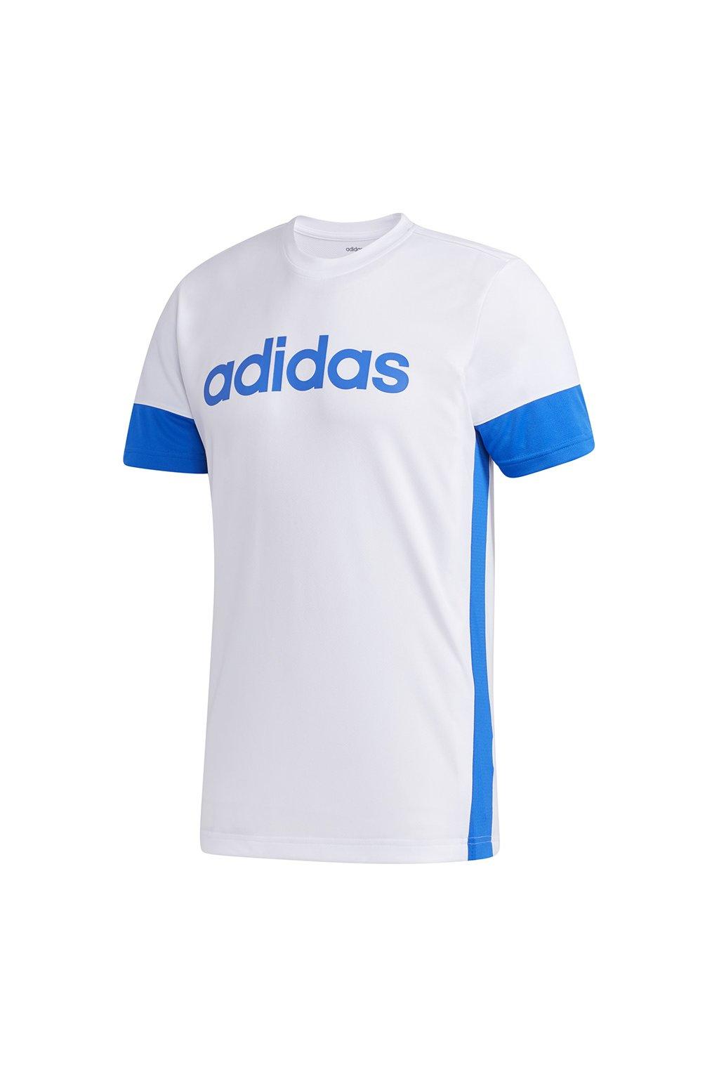 Tričko Adidas M D2M Tee white FL0268