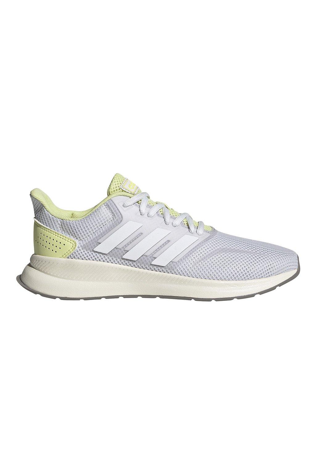 Dámske tenisky Adidas Runfalcon šedo-žlté EG8622