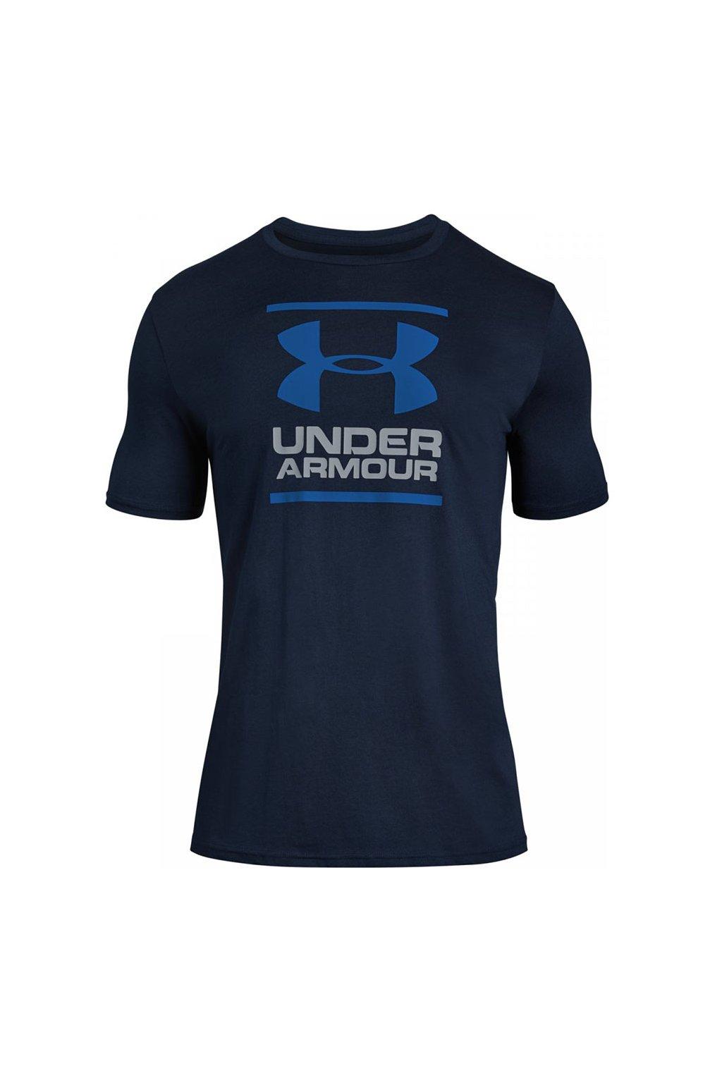 Pánske tričko Under Armour GL Foundation SS T  námornícka modrá 1326849 408