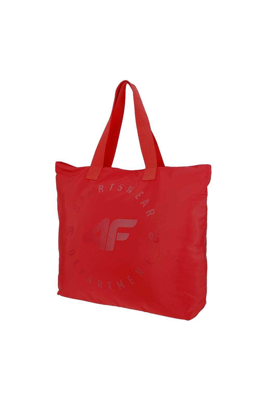 Plážová taška 4F červená H4L20 TPL001 62S