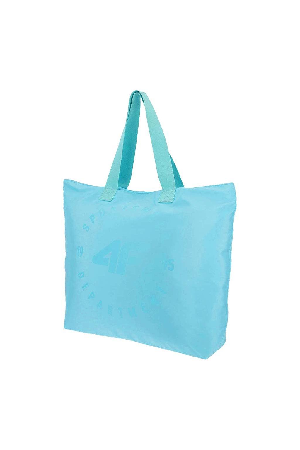 Plážová taška 4F modrá H4L20 TPL001 47S