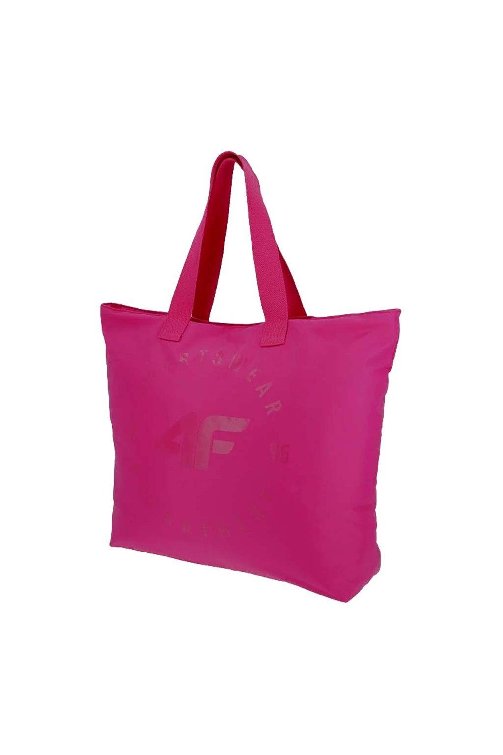 Plážová taška 4F ružová H4L20 TPL001 54S