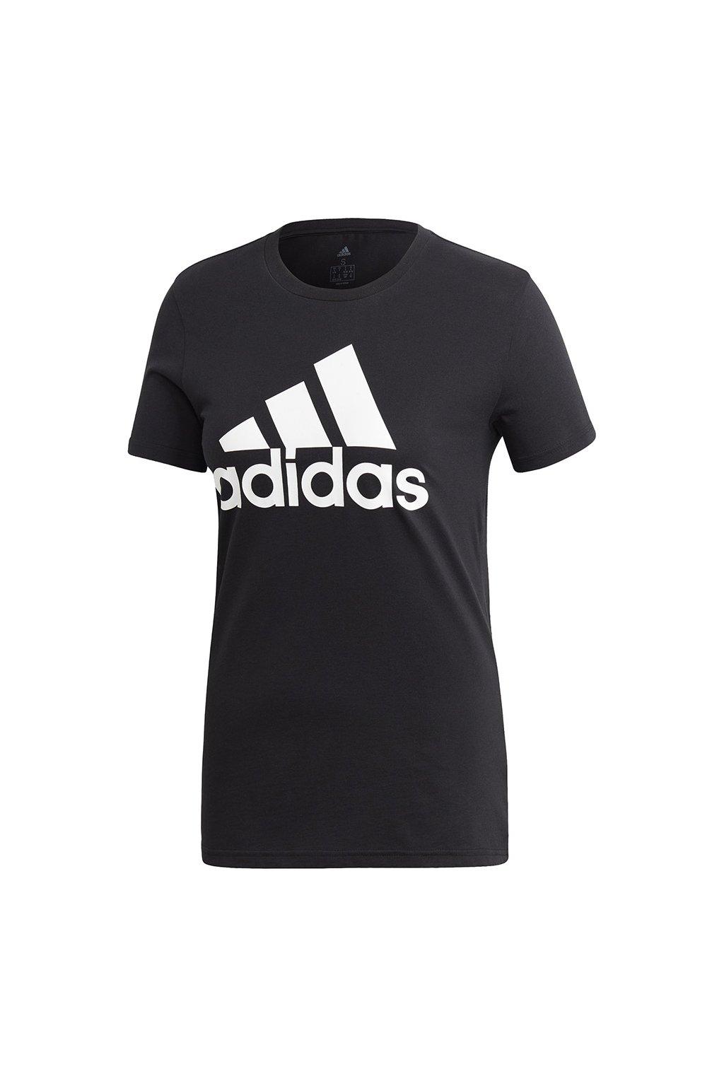Dámske tričko adidas Badge of Sports čierne FQ3237