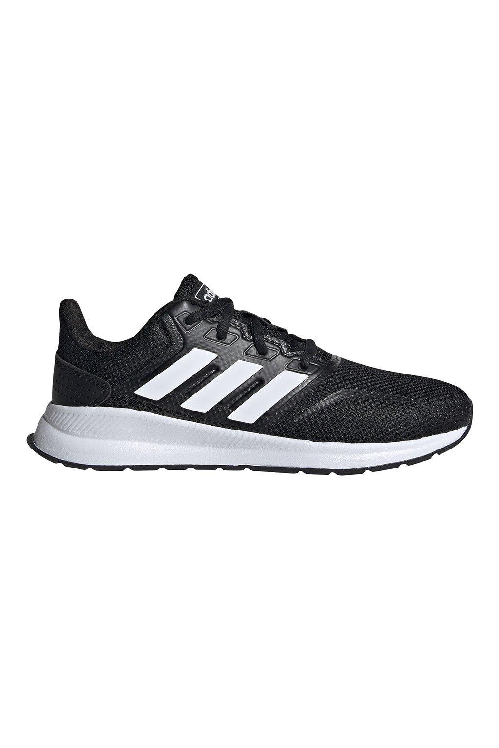 Detská obuv Adidas Runfalcon K čierno biela EG2545