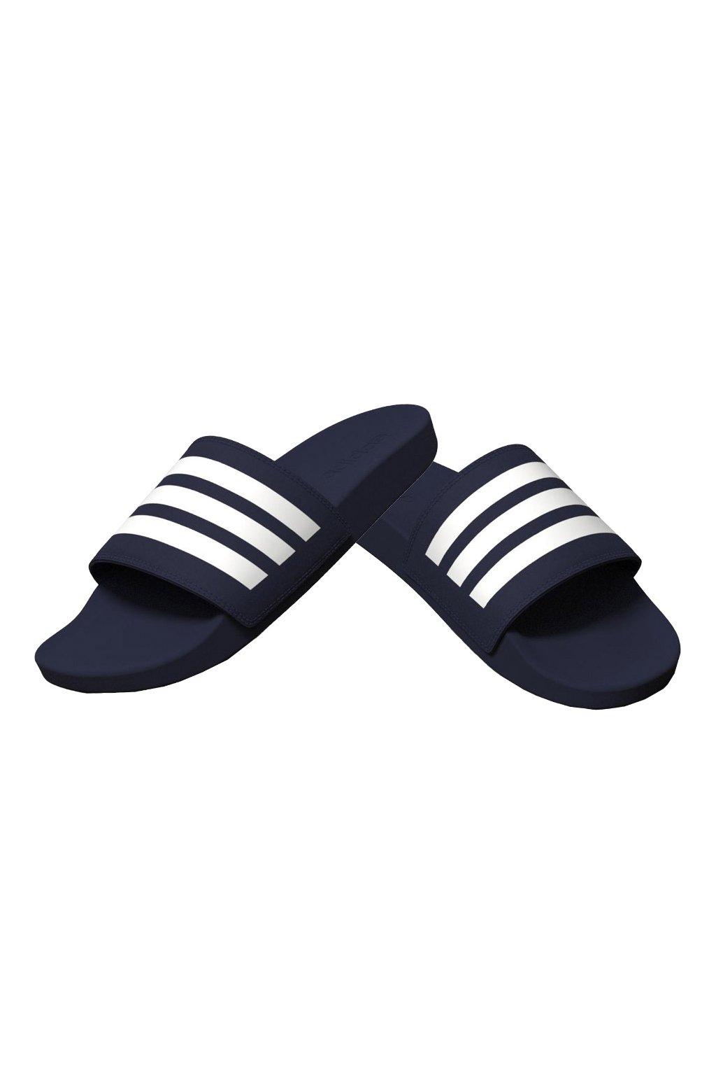 Šlapky Adidas Adilette Comfort námornícka modrá B42114