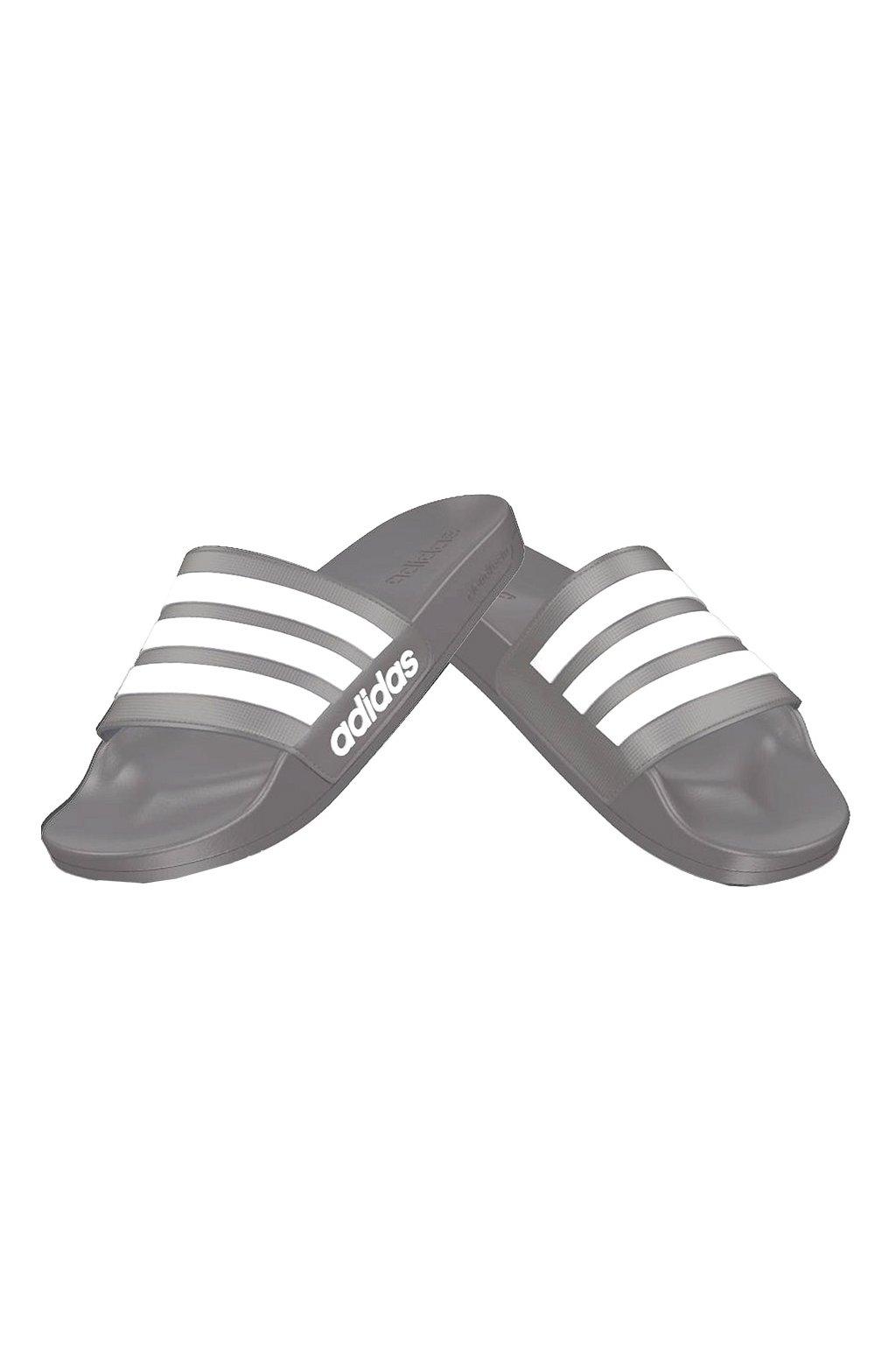 Šľapky Adidas Adilette sivé B42212