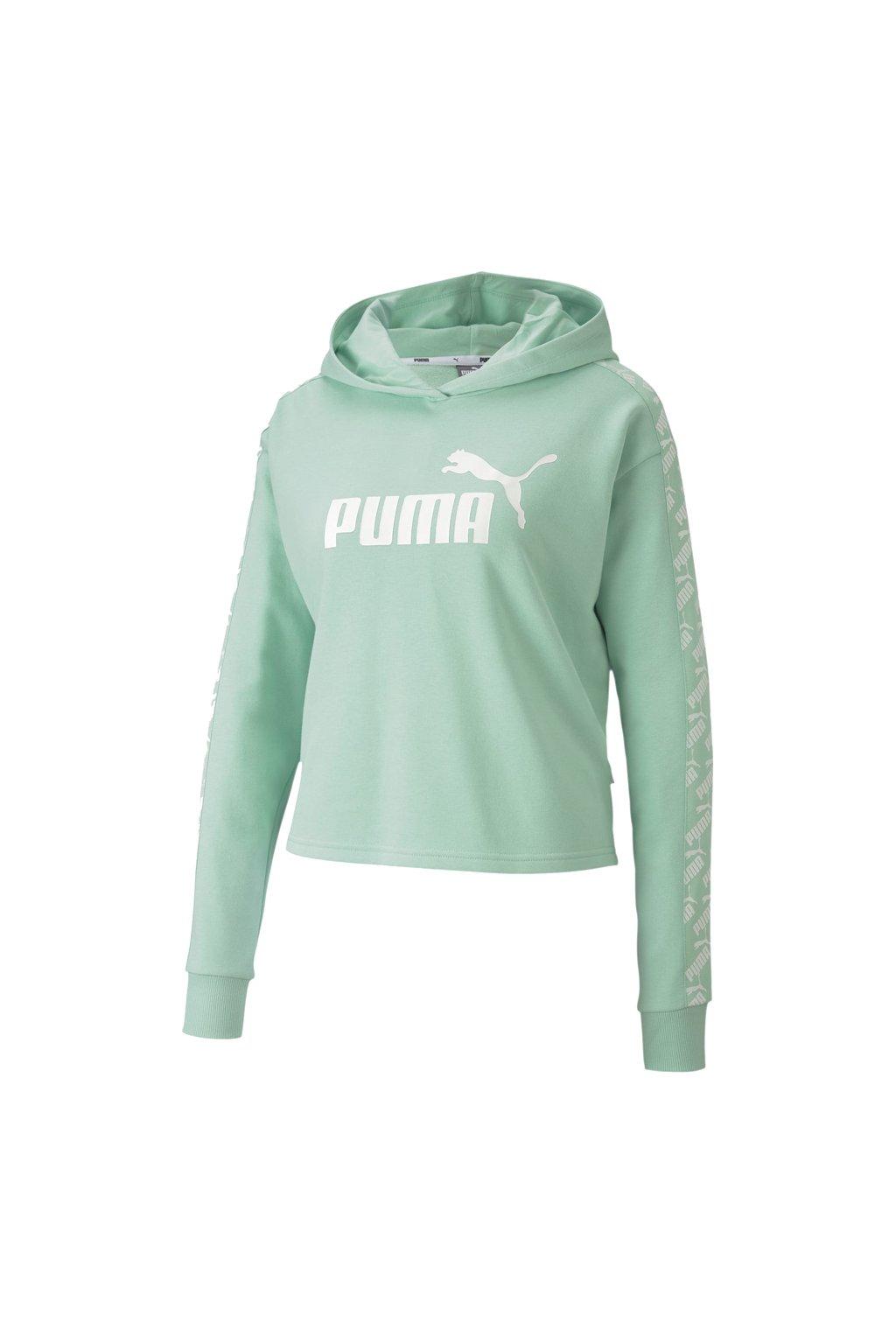 Dámska mikina Puma Amplified Hoody TR zelená 581717 32