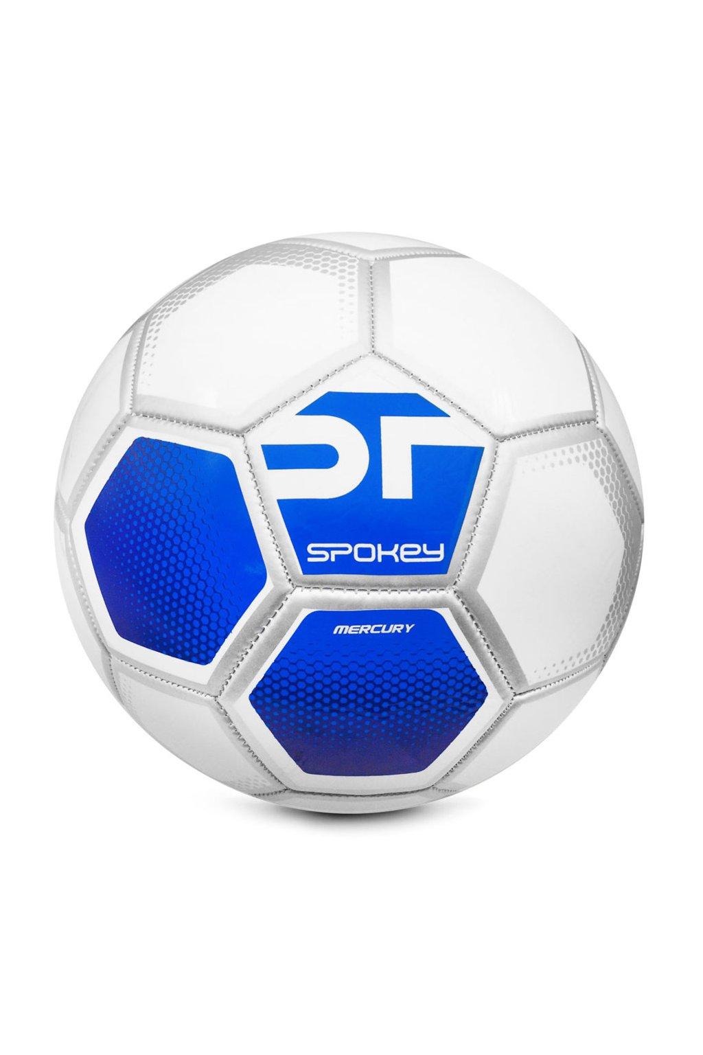 Piłka nożna Spokey Mercury szaro-niebieska 925389