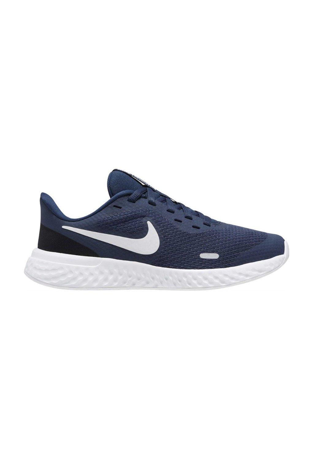Buty do biegania Nike Revolution 5 granatowe BQ5671 402