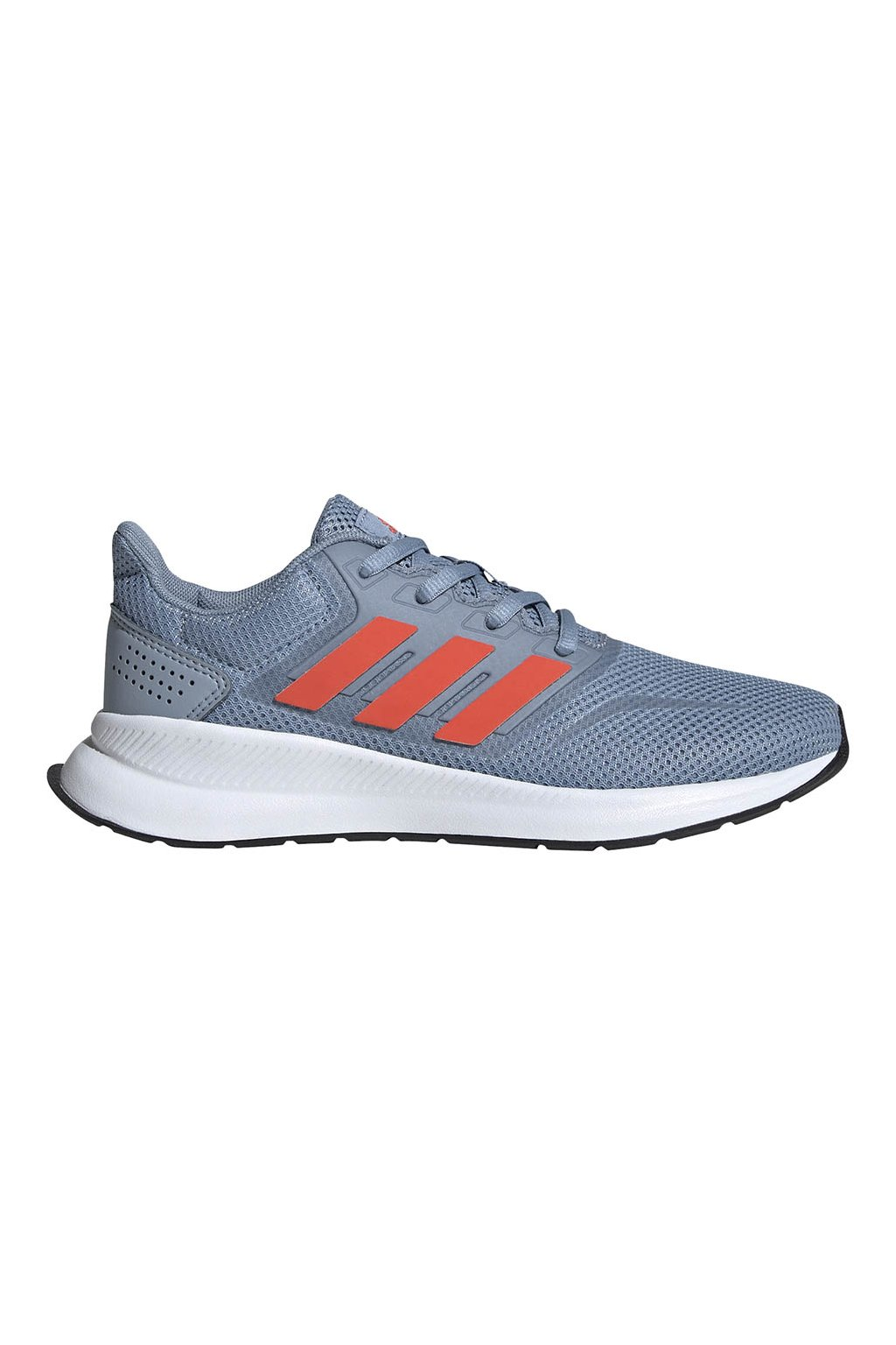 Detská obuv Adidas Runfalcon K šedo-oranžová FV9440