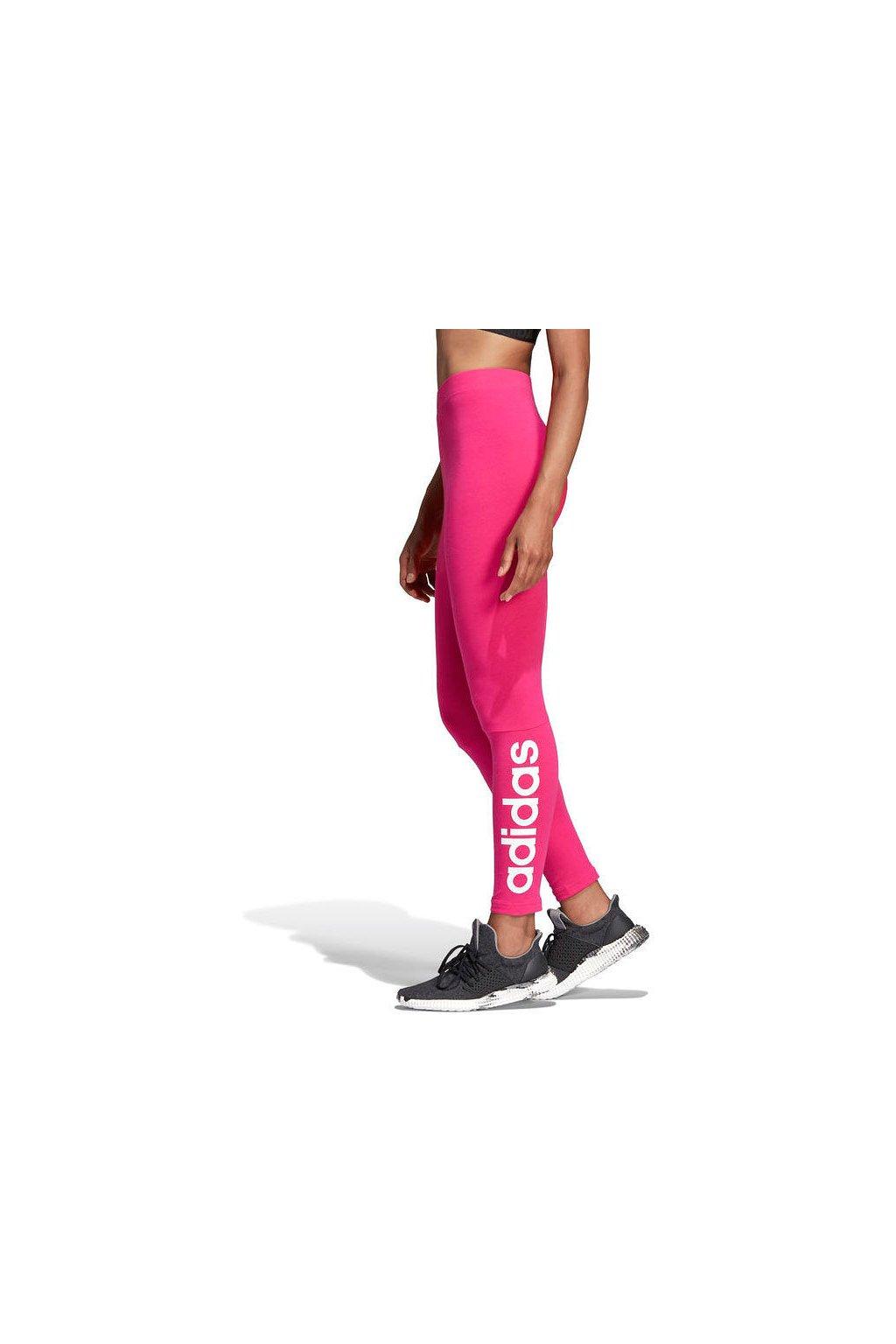 Adidas ESS LIN TIGHT dámske legíny ružové CZ5743