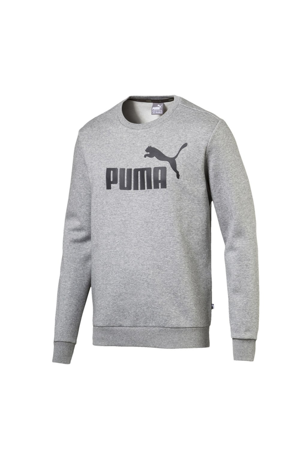 Pánska mikina Puma Essentials Logo Crew Fleece sivá 851747 03