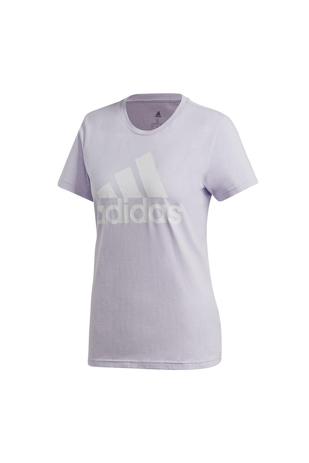 Dámske tričko adidas W BOS CO Tee fialové FQ3240