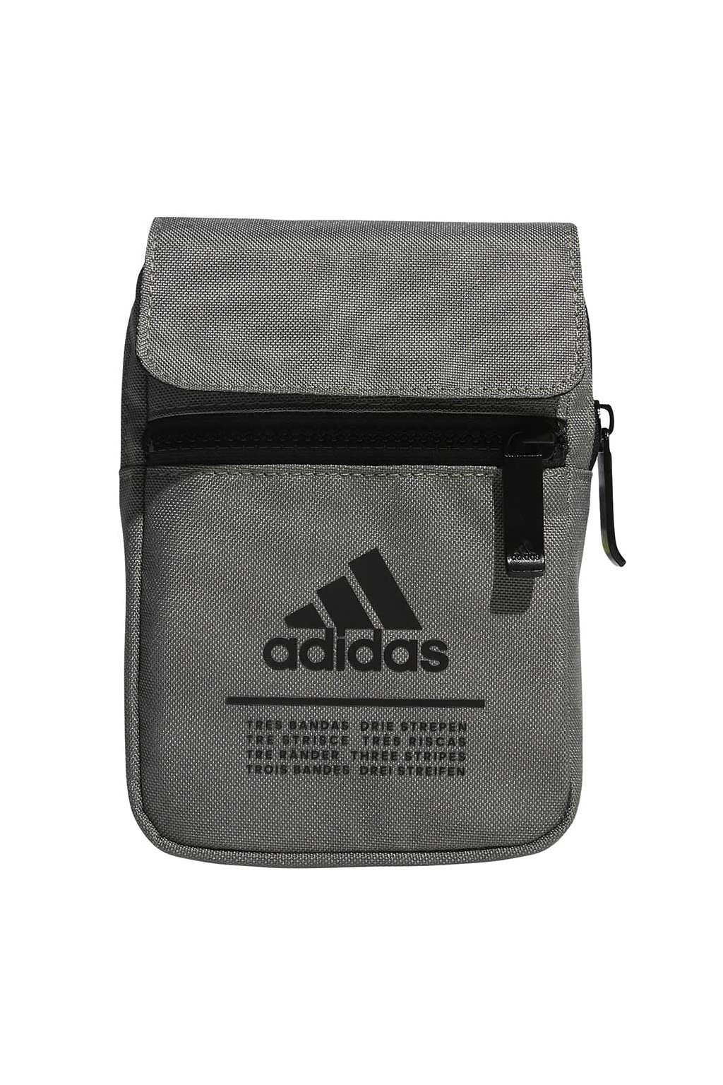 Taška adidas Classic Org S šedo-zelená GE4629