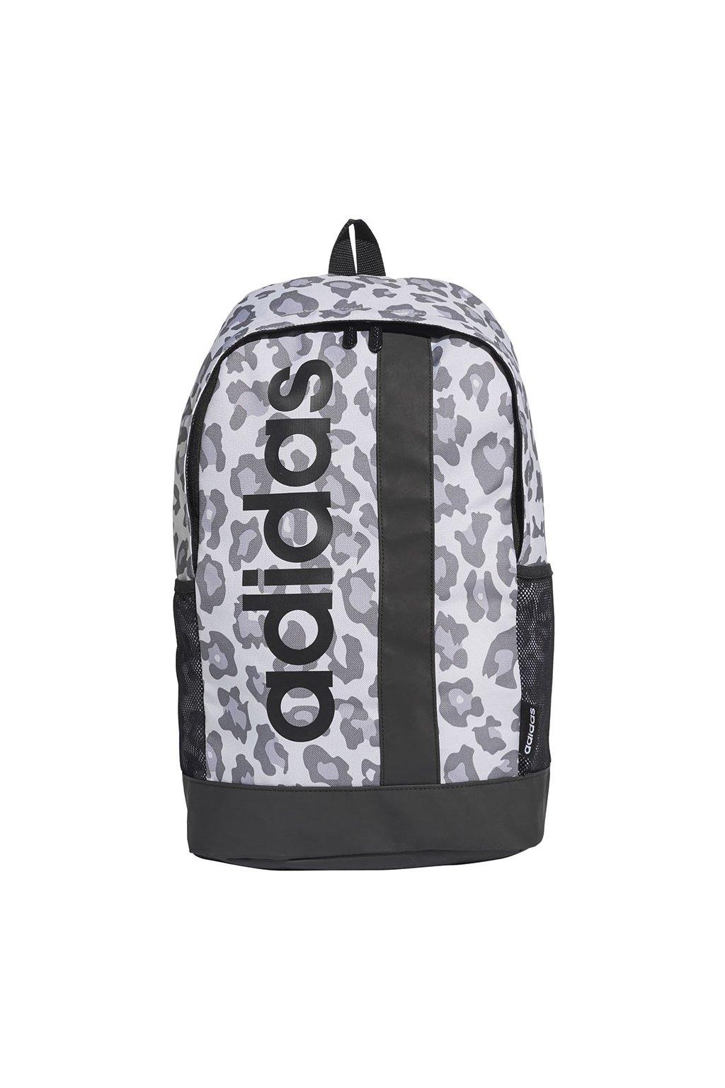 Batoh adidas Linear Backpack Leopard šedý GE1230