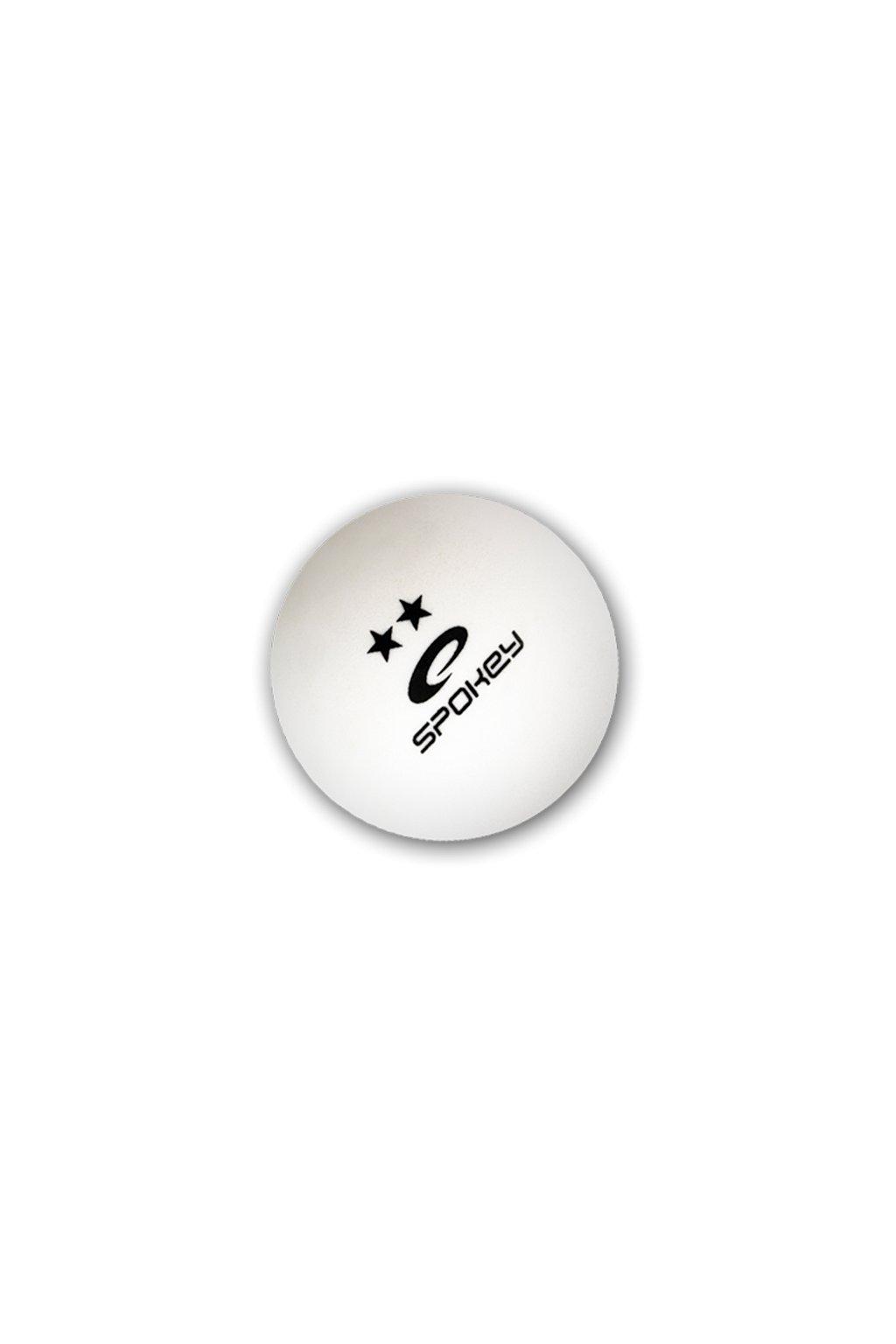 Piłeczki do ping ponga Spokey Skilled** biała 6szt 81874