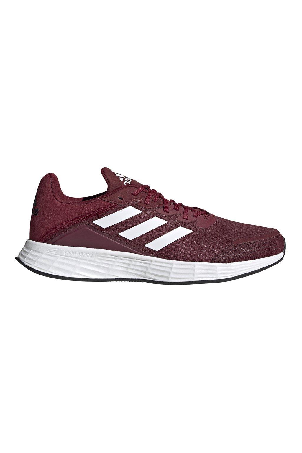Pánske bežecké topánky Adidas Duramo SL bordové FW3217
