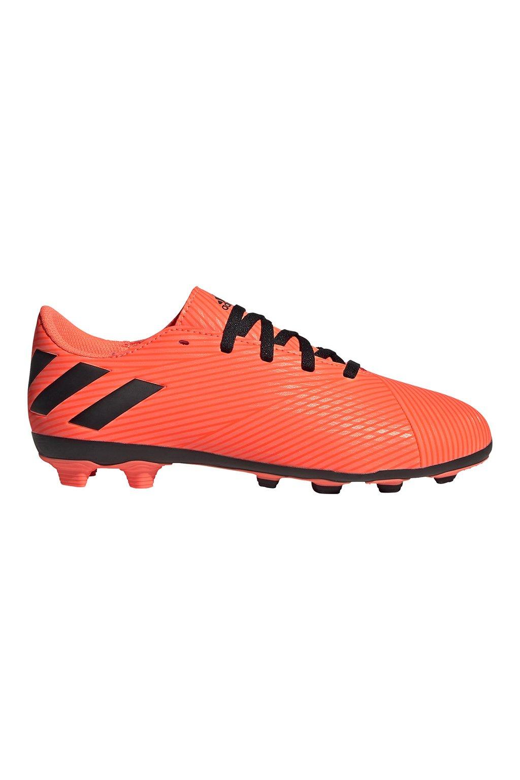 Futbalové kopačky Adidas Nemeziz 19.4 FxG JR oranžové EH0507