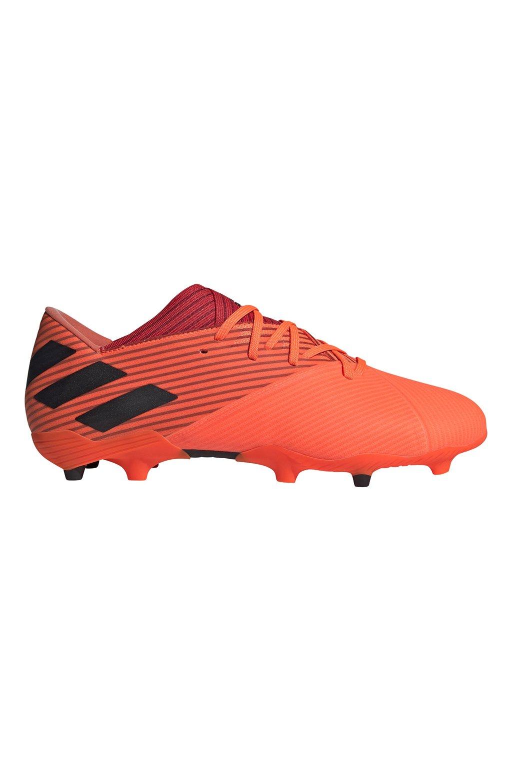 Futbalové kopačky Adidas Nemeziz 19.2 FG oranžové EH0293