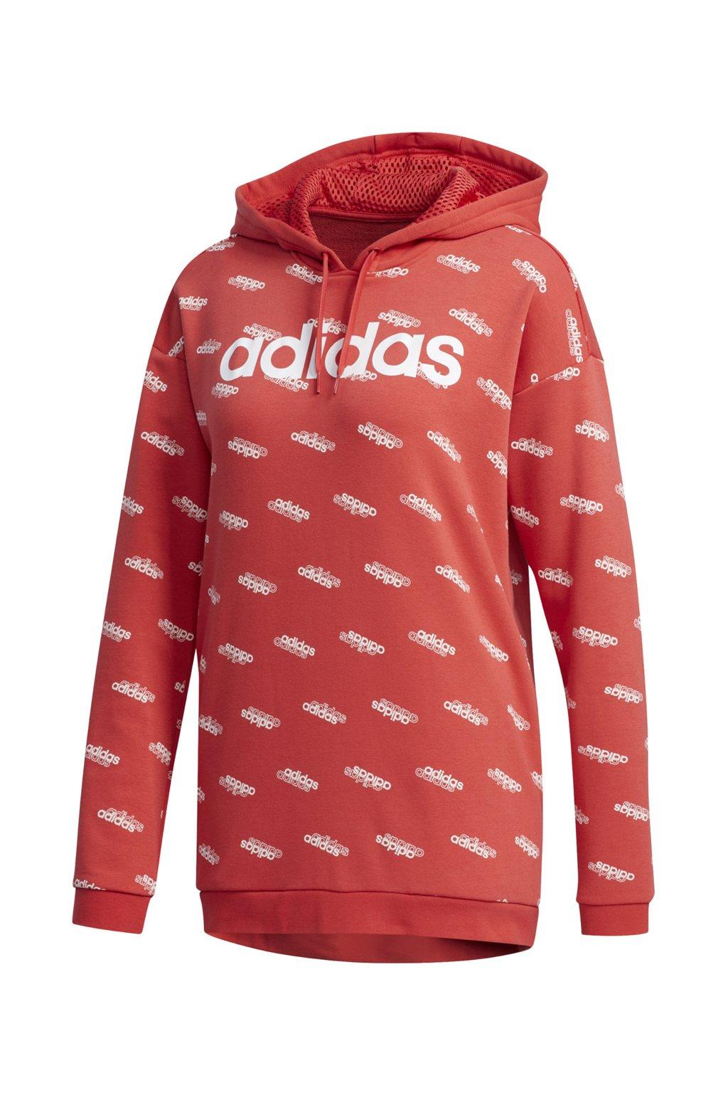 Dámska mikina Adidas Favorites FN0943 červená