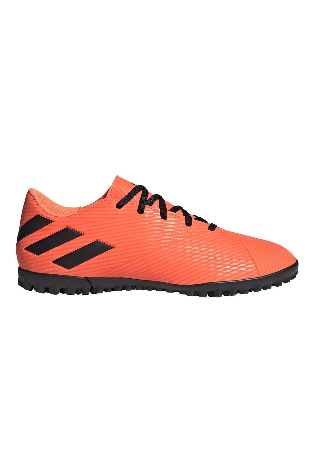 Futbalové kopačky Adidas Nemeziz 19.4 TF oranžové EH0304
