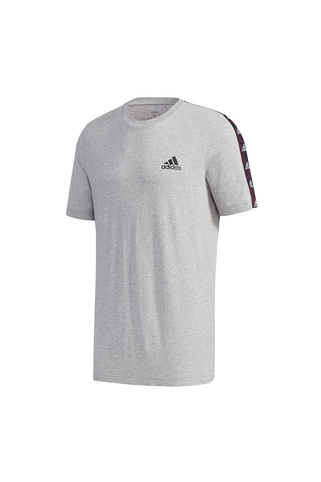 Pánske tričko adidas Essentials Tape sivé GD5442