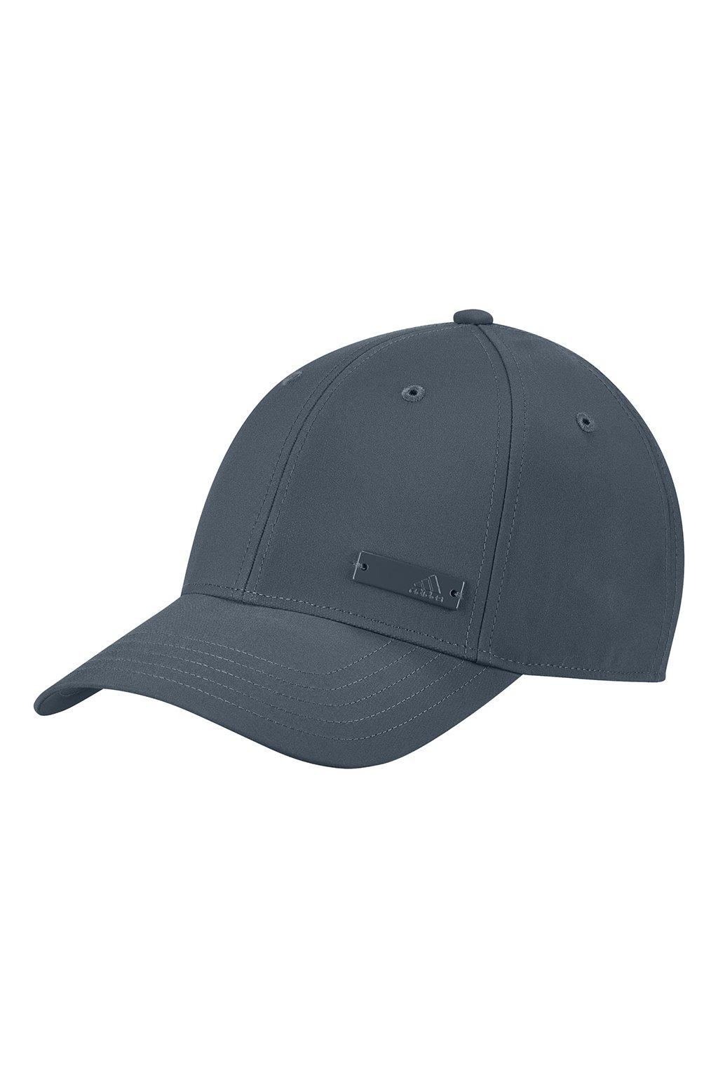 Juniorská šiltovka adidas Baseball Cap LT MET šedá OSFY GE0755