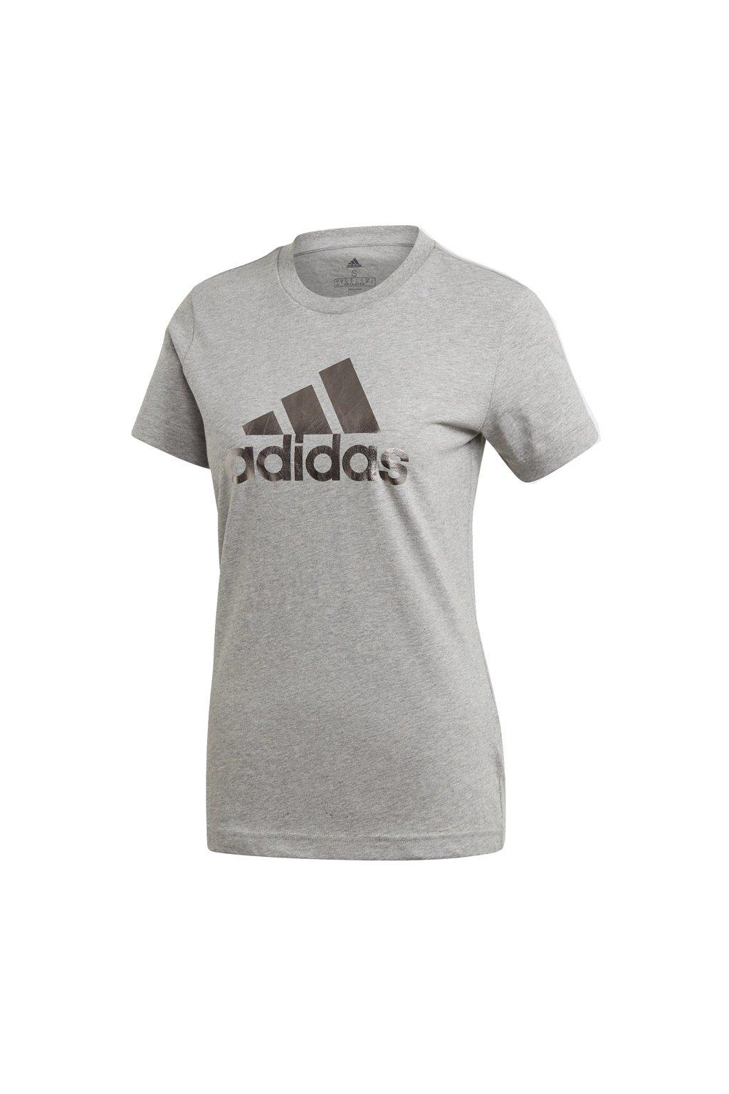 Dámske tričko Adidas UnivVol Tee 2 šedá GI4769