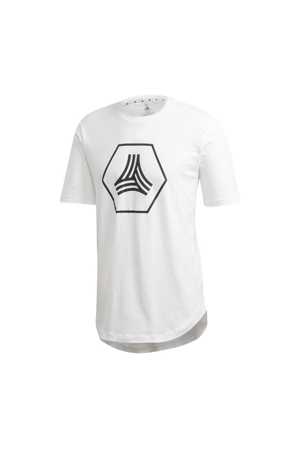Pánske tričko adidas Tan Logo Tee biele FJ6340