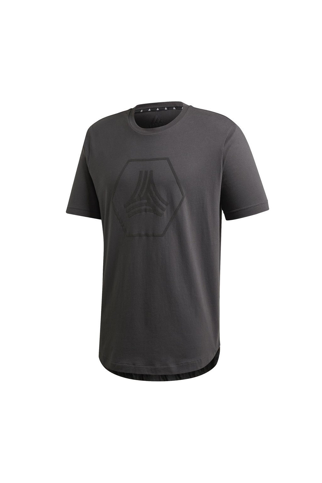 Pánske tričko adidas Tan Logo Tee sivé FM0837
