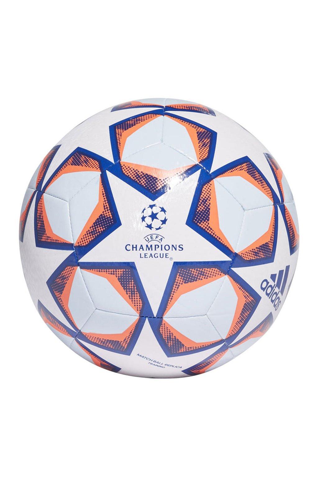 Futbalová lopta Adidas Finale 20 Training GI8597 bielo-modro-oranžová