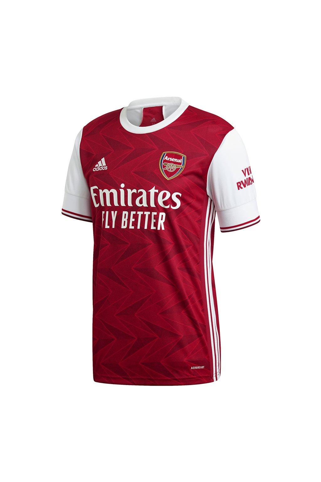 Pánske tričko Adidas Arsenal červeno-biele EH5817