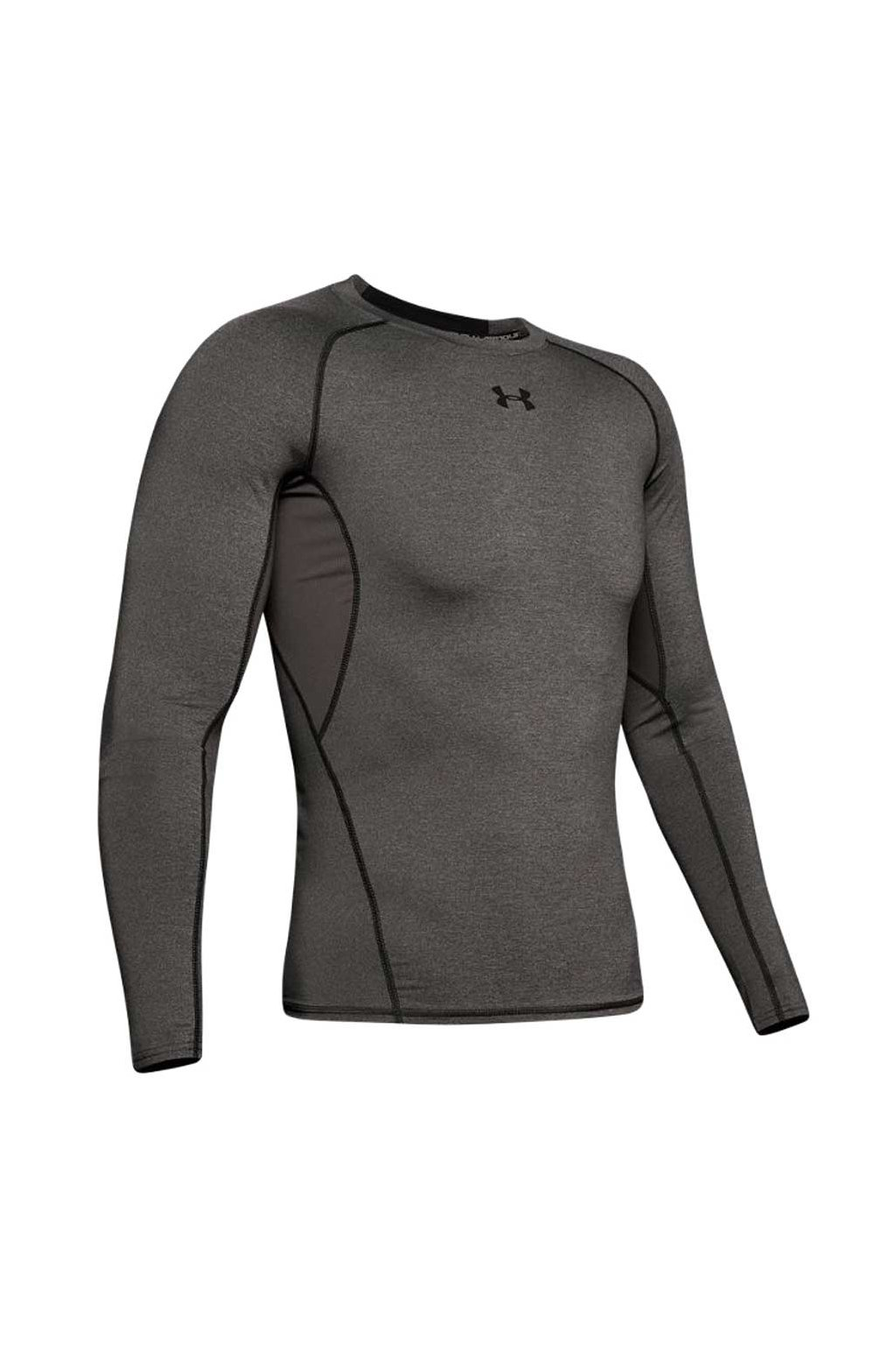 Pánske tričko Under Armour Hg Ls sivé 1257471 090