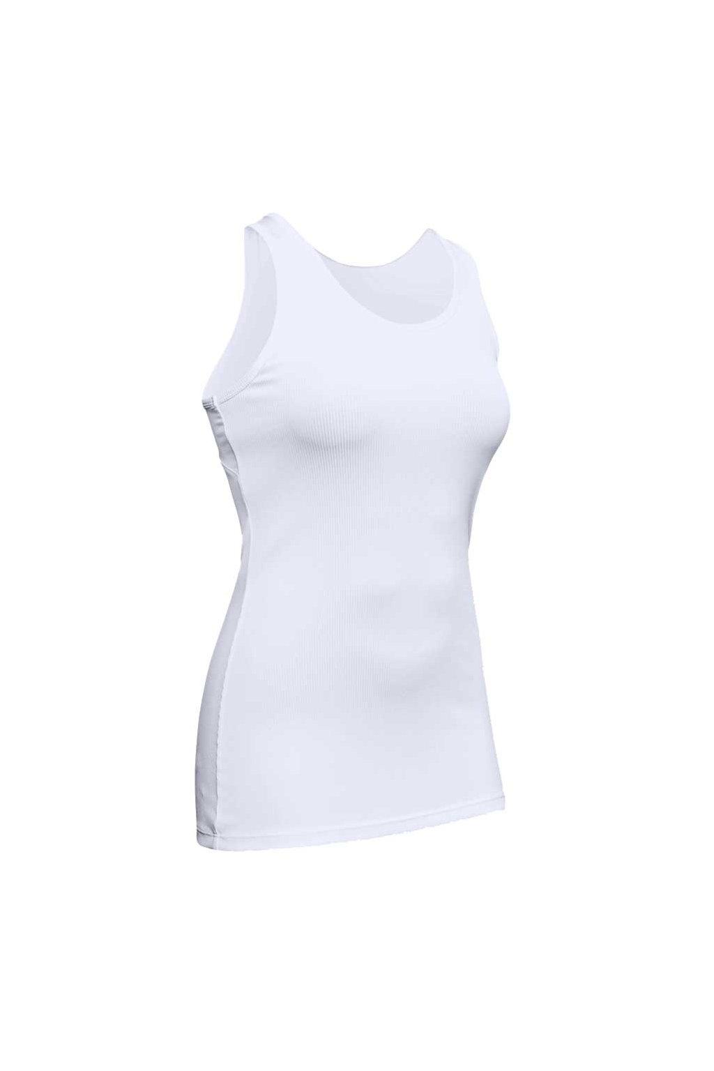 Dámske tričko Under Armour Victory Tank biele 1349123 100