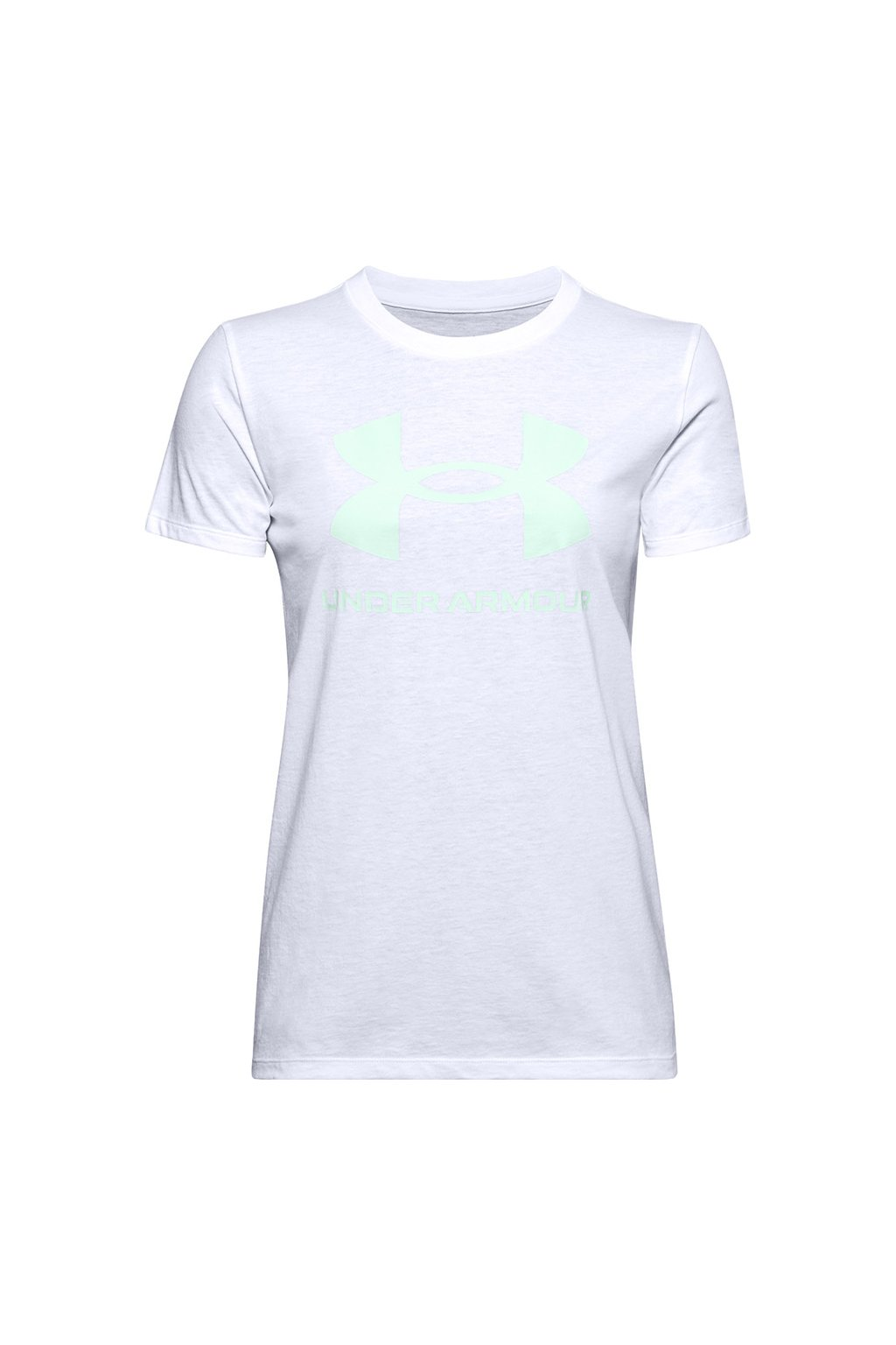 Dámske tričko Under Armour Live Sportstyle Graphic Ssc biele 1356305 100