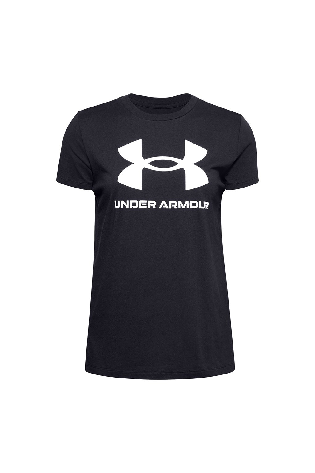 Dámske tričko Under Armour Live Sportstyle Graphic Ssc UAR čierne 1356305 001