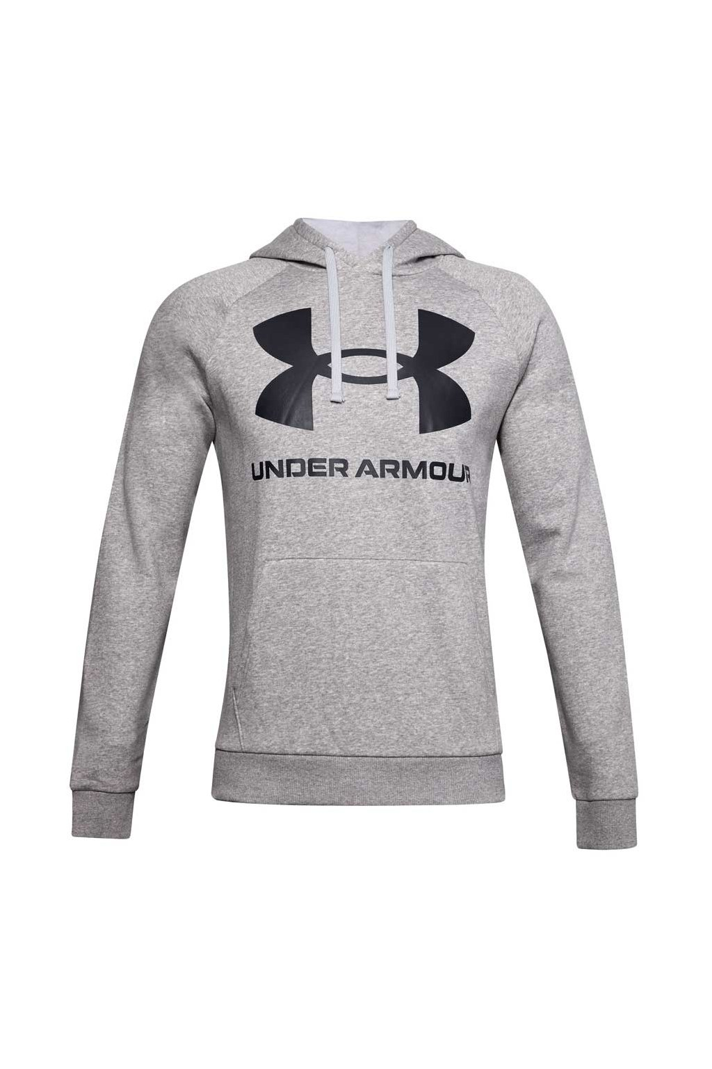 Pánska mikina Under Armour Rival Fleece Big Logo Hd sivá 1357093 011