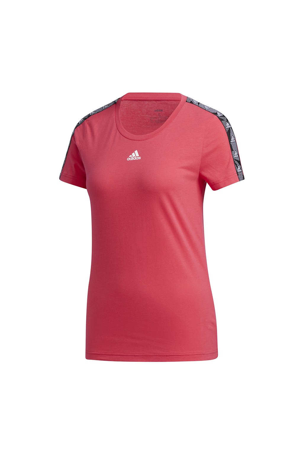 Dámske tričko adidas Essentials Tape Tee ružová GE1133