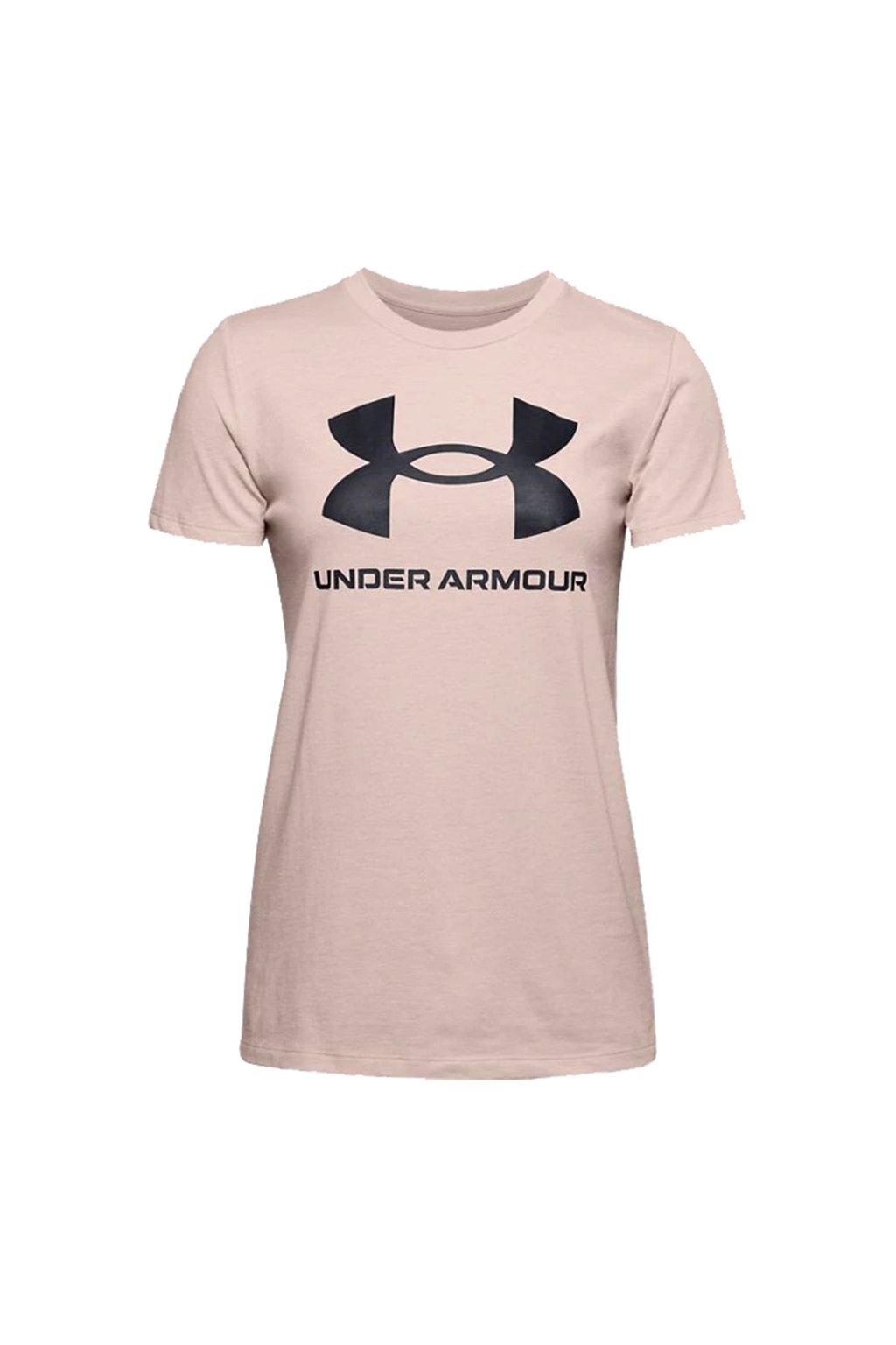 Dámske tričko Under Armour Live Sportstyle Graphic Ssc béžové 1356305 679