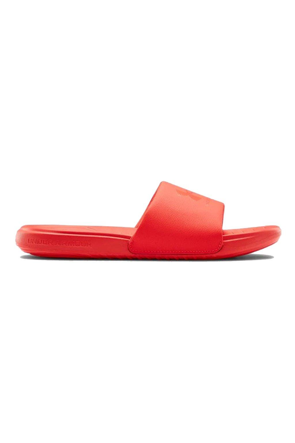 Pánske papuče Under Armour Ansa Fix Sl červené 3023761 602