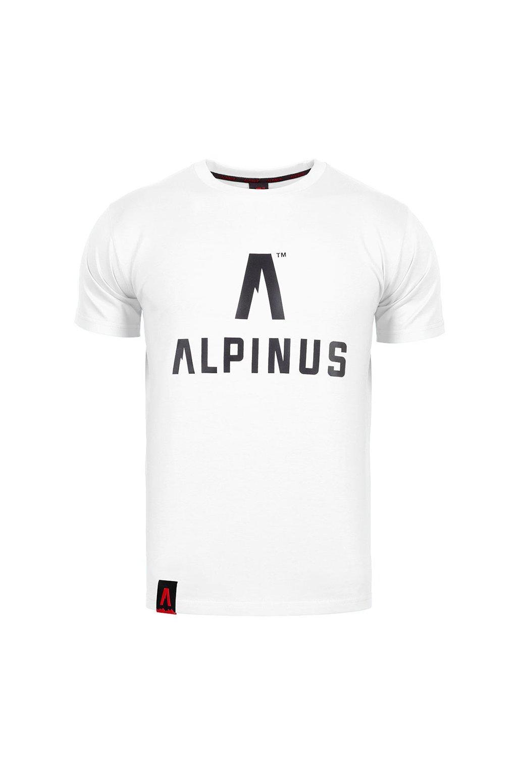 Pánske tričko Alpinus Classic biele ALP20TC0008