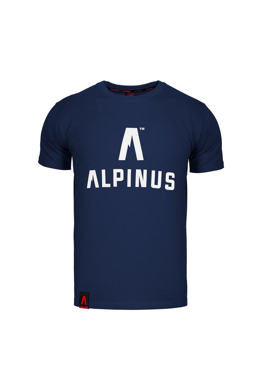 Pánske tričko Alpinus Classic tmavo modré ALP20TC0008