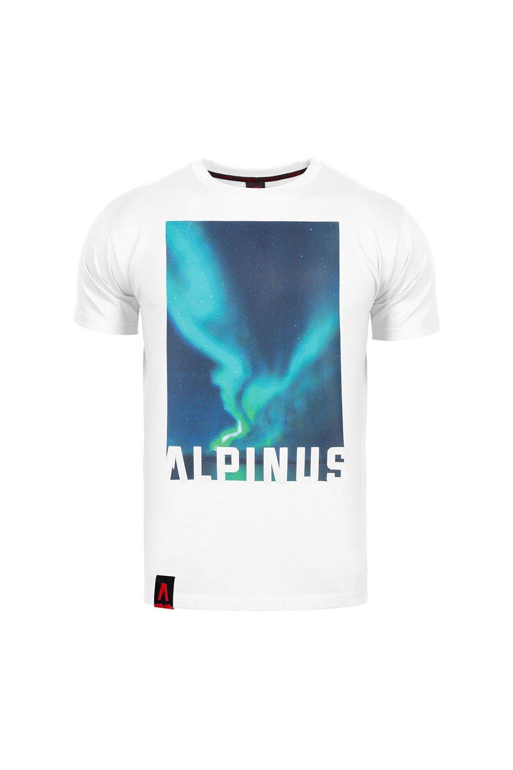 Pánske tričko Alpinus Cordillera biele ALP20TC0009