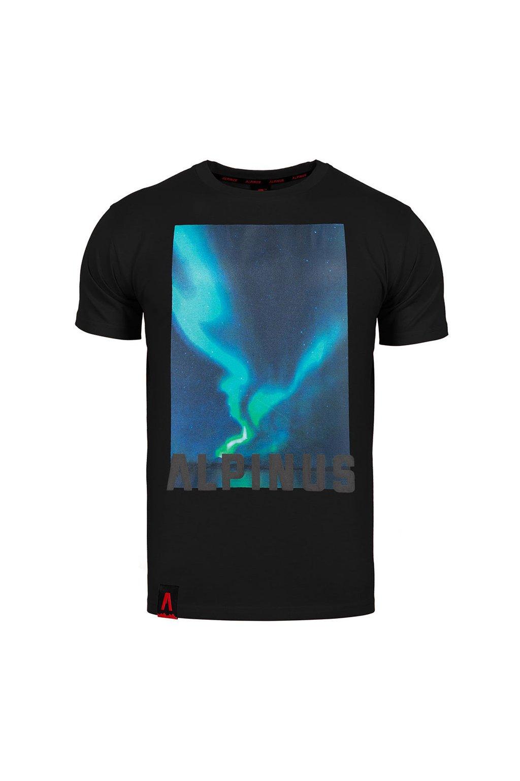 Pánske tričko Alpinus Cordillera čierne ALP20TC0009