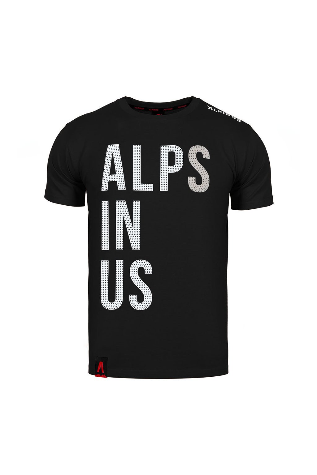 Pánske tričko Alpinus Alps In Us čierne ALP20TC0015
