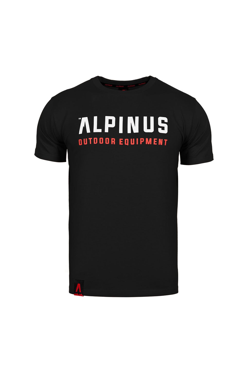 Pánske tričko Alpinus Outdoor Eqpt. čierne ALP20TC0033