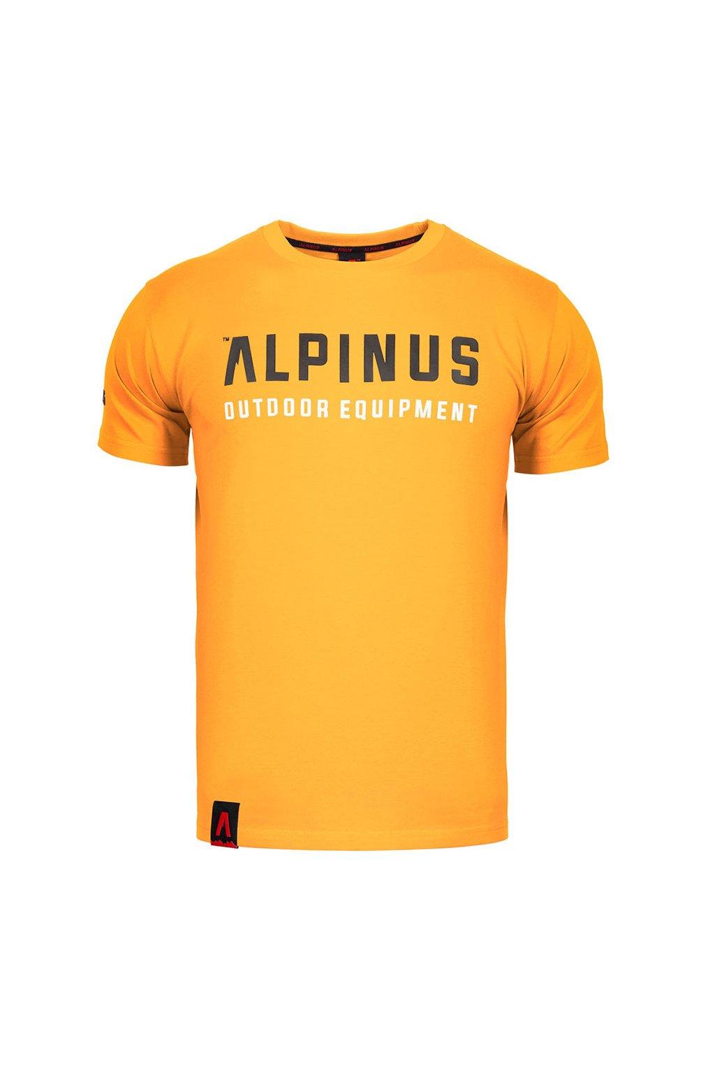 Pánske tričko Alpinus Outdoor Eqpt. oranžové ALP20TC0033